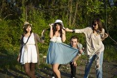 Jongen en meisjes Stock Fotografie