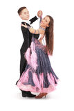Jongen en meisjes het dansen ballet Royalty-vrije Stock Afbeelding