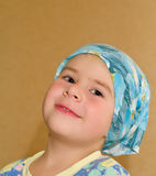 Jongen in headscarf Stock Foto's