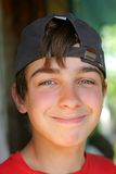 Jongen portret Stock Fotografie