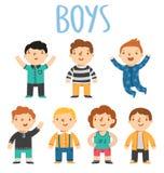 Jongens royalty-vrije illustratie
