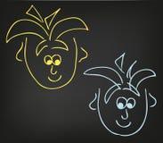 2 jongens vector illustratie