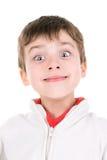 Jongensgezichten royalty-vrije stock afbeelding