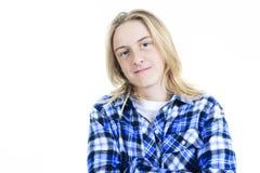 Jongensportret Royalty-vrije Stock Afbeelding