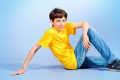 Jongensportret Stock Afbeeldingen