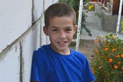 Jongensportret Stock Afbeelding