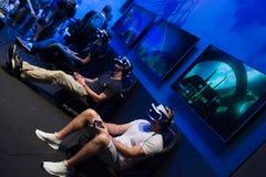 Jongeren bij tentoonstelling Gamescom Royalty-vrije Stock Foto