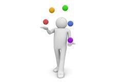 jonglör Arkivfoton
