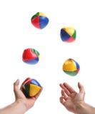 jonglera Arkivfoton