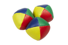 Jonglera bollar Arkivbilder