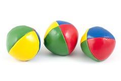 Jonglerende met ballen Stock Afbeelding