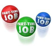 Jonglierende Halbtagsarbeiten kommen niedriger Lohn-Arbeitskräfte über die Runden Lizenzfreies Stockbild