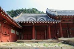 Jongmyo在汉城,韩国 免版税图库摄影
