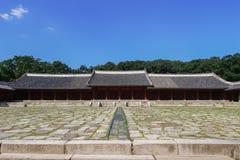 Jongmyo à Séoul, Corée Image stock