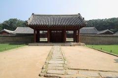 Jongmyo en Seul, Corea foto de archivo