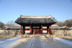 Jongmyo, Royal Ancestral Shrine Stock Photography