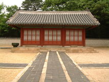 Jongmyo (Royal Shrine), Seoul. Subsidiary shrine at Jongmyo, Seoul Stock Image