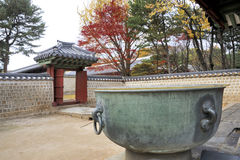 Jongmyo Royal Shrine in Seoul Royalty Free Stock Images