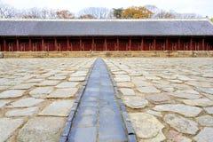 Jongmyo Royal Shrine in Seoul Royalty Free Stock Images