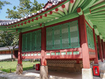 Jongmyo in Seoul, Korea. Jongmyo is the oldest Confucian royal shrine located in Seoul, Korea Stock Photos
