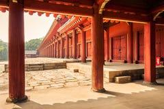 Jongmyo Shrine Stock Photos