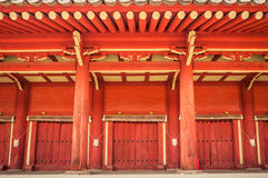 Jongmyo Shrine Royalty Free Stock Photo