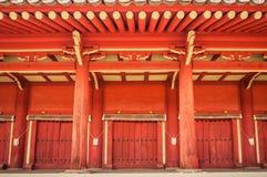 Jongmyo Shrine. Is a Confucian shrine in Seoul, South Korea, and a UNESCO World Heritage Site Royalty Free Stock Photo