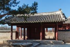 Jongmyo Shrine Stock Images