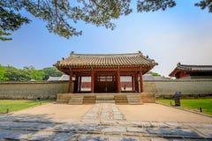Jongmyo Shrine at summer on Jun 17, 2017 in Seoul, Korea - World royalty free stock images