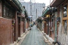 Jongno old alleyways Stock Photo