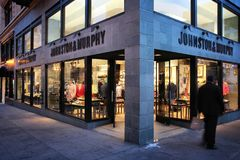 Jonhston und Murphy Stockfotografie
