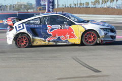 Joni Wiman 31, drives a Honda Civic car, during the Red Bull Glo Stock Photos