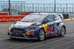 Joni Wiman rally driver Stock Photo