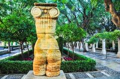 Jonica. Famous statue in the Jardines de s'Hort del Rei, Palma de Mallorca Royalty Free Stock Photos
