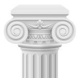 Jonisk kolonn Arkivbilder