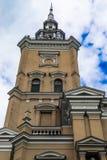 Joniskis Sant kościół wniebowzięcie maryja dziewica Lithu Obrazy Stock