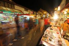 Jonker步行, Melaka,马来西亚 库存照片