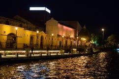 Jonker gata i Malacca, Malaysia Royaltyfri Foto