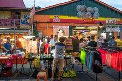 Jonker-Straße verkauft alles von den geschmackvollen Nahrungsmitteln an billige Andenken Lizenzfreie Stockbilder