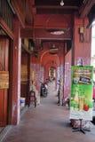 Jonker Street is the centre street in Malacca Stock Image