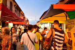 Jonker Street in Malacca Royalty Free Stock Image