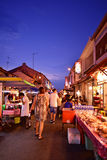 Jonker Street in Malacca Royalty Free Stock Images