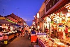 Jonker Street in Malacca Royalty Free Stock Photo