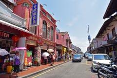 Jonker Street in Malacca Stock Image