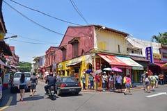 Jonker Street in Malacca Stock Photo