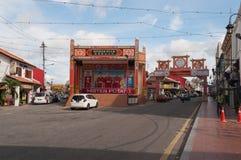 Jonker street in Malacca Royalty Free Stock Photos