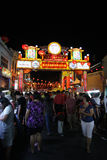 Jonker Walk. MELAKA,MALAYSIA-FEBRUARY 02:People were shopping at Jonker Walk during Chinese New Year.:Jonker Walk is a street in Chinatown with many antiques Royalty Free Stock Photo