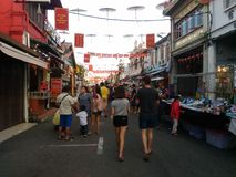 Jonker Walk in Melaka Stock Photos