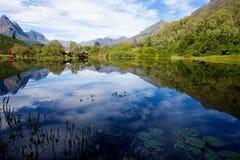 Jonkershoek a Stellenbosch immagini stock