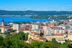 Jonkoping. Sweden. Cityscape of Jonkoping. Jonkoping Municipality, Smaland, Sweden Stock Photography